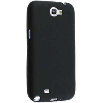 Pouzdro měkké plastové Brando - Samsung Galaxy Note II (černé)