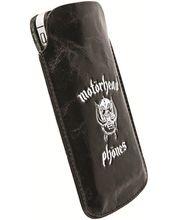 Motörhead pouzdro Burner XXL - Huawei Ascend G300, Samsung Wave III (černá/bílá)