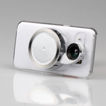 Ztylus Revolver sada objektivů pro Samsung Galaxy S7 edge, transparentní