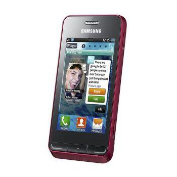 Samsung Wave 723 Garnet Red