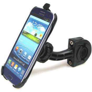 Sestava SH držáku pro Samsung Galaxy S III i9300 s dlouhým držákem na řídítka na kolo s kloubem