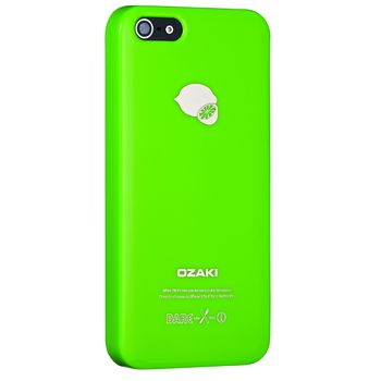 Ozaki kryt pro iPhone 5/5S O!coat Fruit LEMON, zelená