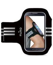 """Puro sportovní pouzdro na ruku pro telefony s displejem do 5"""", černá"""
