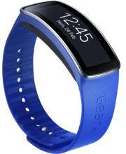 Samsung výměnný pásek ET-SR350BL pro Gear Fit - standardní velikost, modrý