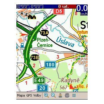 SmartMaps Turistický průvodce mapy ČR 1:100 000 pro PC