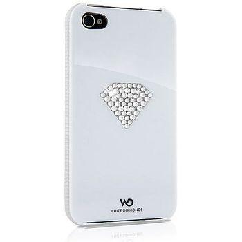 White Diamonds kryt Rainbow pro Apple iPhone 4/4S - bílá
