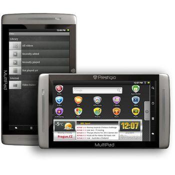 """Prestigio Multipad PMP7070C, Android, 7"""" display 800x480, Wi-Fi, 8GB, stříbrná/šedá"""