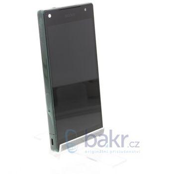 Náhradní díl na LCD Display + Dotyková Deska + přední kryt Sony E5823 Xperia Z5compact černý