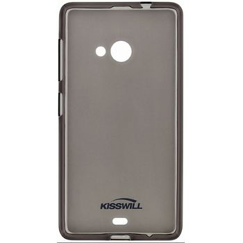 Kisswill TPU pouzdro pro Huawei Y6 II Compact, černé