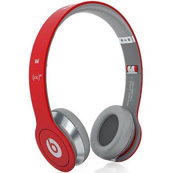 Beats by Dr. Dre Solo HD - červená