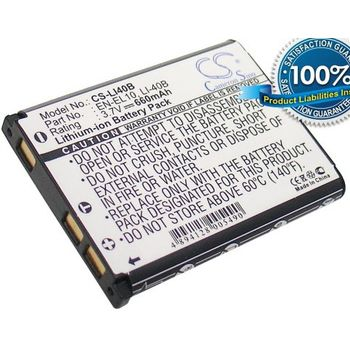 Baterie (ekv. Li-42B) pro Olympus SP-700, Mju-700, Mju-704, FE190, Li-ion 3,7V 660mAh