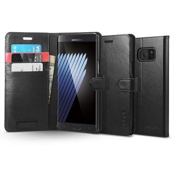 Spigen flipové pouzdro Wallet S pro Galaxy Note 7, černé