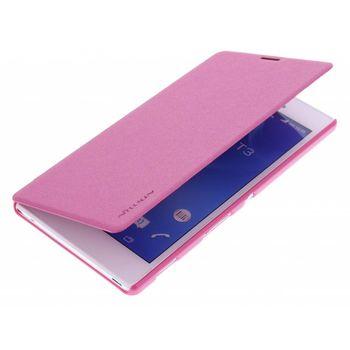 Nillkin pouzdro Sparkle Folio pro Sony D5103 Xperia T3, růžové