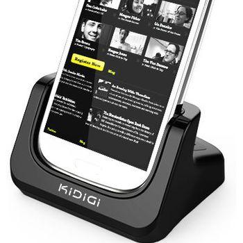 Kidigi dobíjecí a synchronizační kolébka pro Samsung Galaxy S III (i9300)