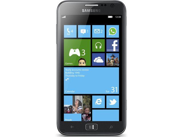 obsah balení Samsung I8750 ATIV S + SanDisk ultra rychlá paměťová karta 16GB