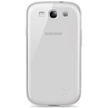 Belkin TPU pouzdro Grip Sheer pro Samsung Galaxy S III, průhledné (F8M398cwC05)
