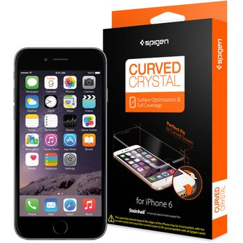 Spigen ochranná fólie Steinheil Curved pro iPhone 6, čirá