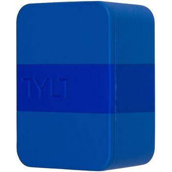 Tylt univerzální cestovní nabíječka do sítě 4.8A-WALL, 2x USB port, modrá