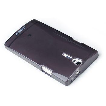 Jekod TPU silikonový kryt Sony Xperia V, černá