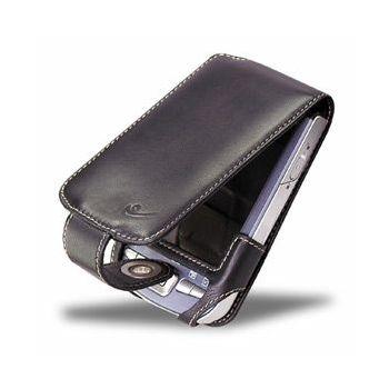 Covertec černé kožené pouzdro pro Asus MyPal A730