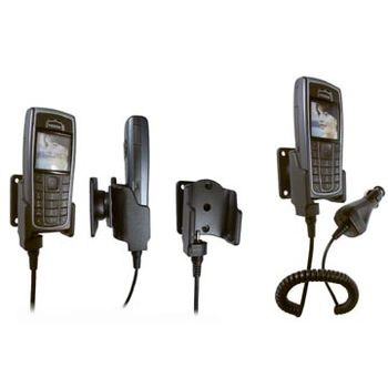 Brodit držák do auta pro Nokia 6230/6230i s nabíjením z cig. zapalovače