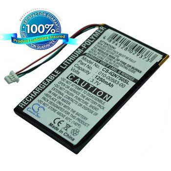 Baterie náhradní pro Garmin Nüvi 755T, Li-pol 3,7V 1250mAh