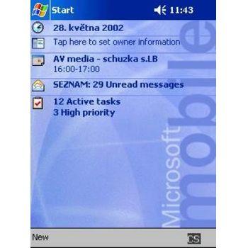 Upgrade OS na Pocket PC 2003 pro 5450