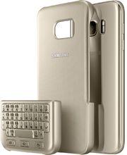 Samsung ochranný zadní kryt s klávesnicí EJ-CG930UF pro Galaxy S7, zlatý