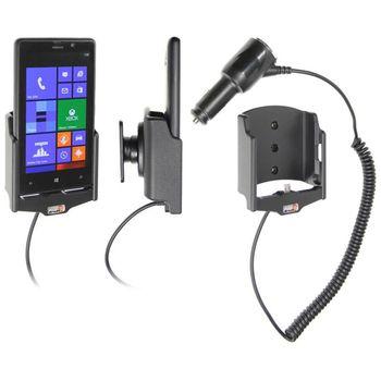 Brodit držák do auta pro Nokia Lumia 820 s nabíjením + adaptér pro snadné odebrání držáku z proclipu