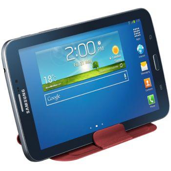 Samsung polohovací kapsa EF-ST210BR pro Galaxy Tab 3 7.0, červená