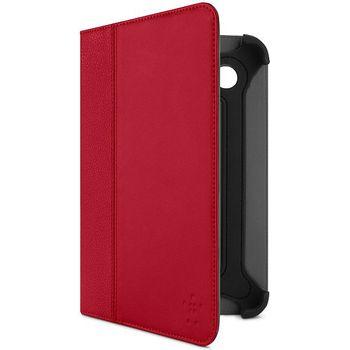 Belkin Leather Cinema Folio pouzdro pro Samsung Galaxy Tab 2 7.0, červená kůže (F8M388cwC02)