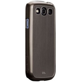 Case Mate Barely There case Brushed Aluminium Silver pro Samsung Galaxy S III