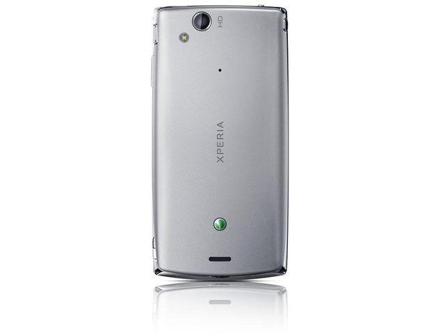 obsah balení Sony Ericsson Xperia Arc S stříbrná + Prémiová fólie Krusell