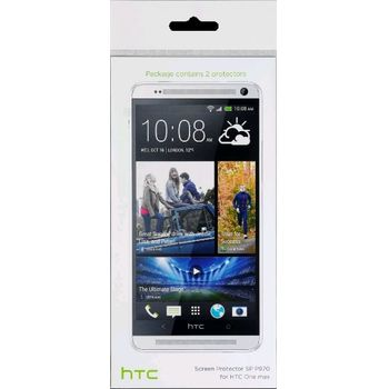 HTC ochranná fólie SP P970 pro One Max (T6) (2 ks)
