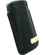 Krusell pouzdro Gaia Pouch L - iPhone 4, HTC Desire/Wildfire, Nokia 5800/C6 116x62x12mm (černá)