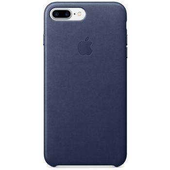 Apple kožený kryt pro iPhone 7 Plus, půlnočně modrý