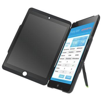 Leitz Complete kryt se stojánkem a privátním vertikálním filtrem pro iPad mini, černá