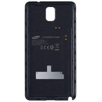 Samsung zadní kryt pro bezdrátové nabíjení EP-CN900IB pro Galaxy Note 3, černá