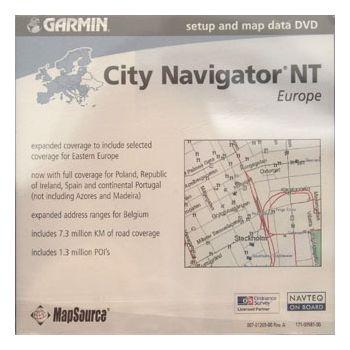 Garmin mapa CN Europe NT 2008, Retail Map Update (RMU)