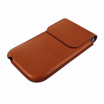 Piel Frama pouzdro pro iPhone 5 Unipur, Tan, kvalitní kůže, ruční výroba, španělská manufaktura