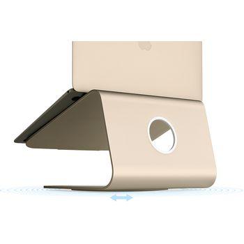 Rain Design mStand 360 otočný stojan pro notebook, zlatý