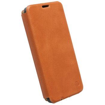 Krusell pouzdro FlipCover Kiruna - Nokia Lumia 625, hnědá