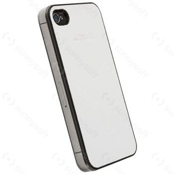 Krusell hard case - Donso Undercover - Apple iPhone 4 (bílá)