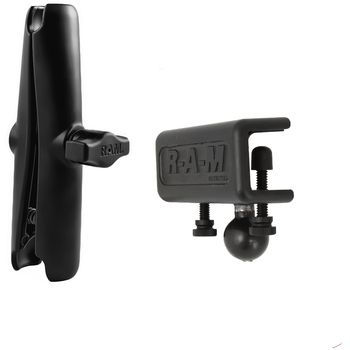 """RAM Mounts sestava pro držák s 1"""" čepem s dlouhým ramenem a s úchytem na desku o tloušťce 4,4 - 28,0 mm, RAM-B-177-XCU"""
