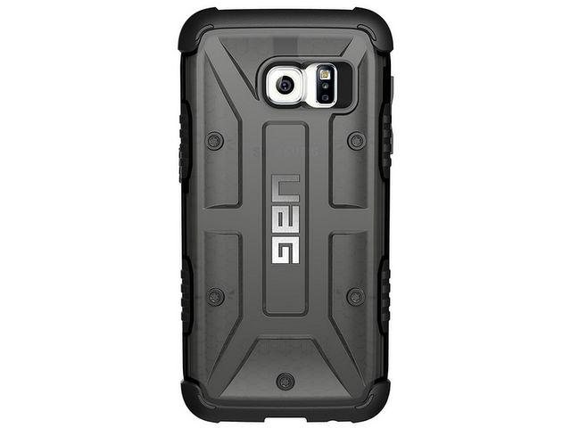 obsah balení UAG ochranný kryt composite case  Ash pro Galaxy S7, šedý