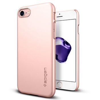 Spigen ochranný kryt Thin Fit pro iPhone 7 plus, růžová