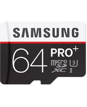 Samsung micro SDXC 64GB Class 10 UHS-I Pro+ paměťová karta + SD adaptér