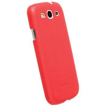 Krusell hard case - BioCover - Samsung i9300 Galaxy S III (červená)