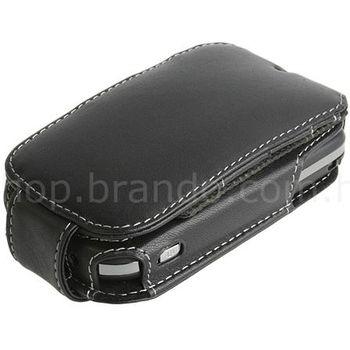 Pouzdro kožené Brando Side open - HTC P3450 Touch