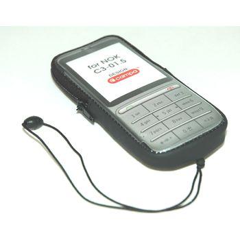 Campa pouzdro pro Nokia C3-01, černá